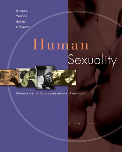Human Sexuality Diversity in Contemporary America 6th 2008 edition cover