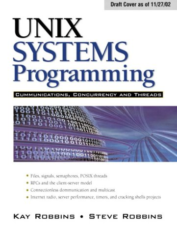 UNIX Systems Programming Communication, Concurrency and Threads 2nd 2004 (Revised) edition cover