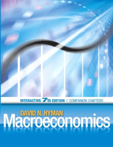 Macroeconomics Interactive Edition, Economics: A Dotlearn Ebook 7th 2009 9780132123112 Front Cover