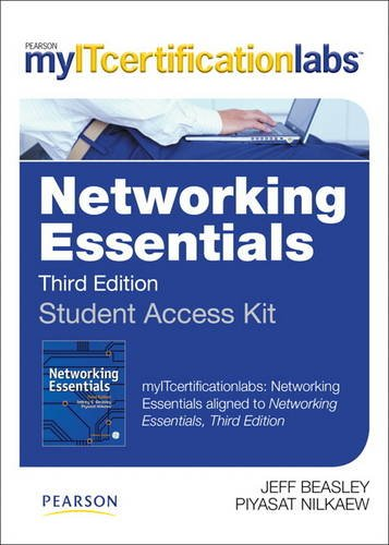 Networking Essentials MyITCertificationlab -- Access Card  0 edition cover