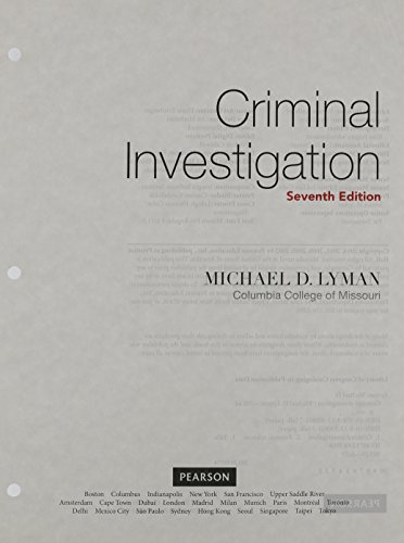 Criminal Investigation The Art and the Science, Student Value Edition 7th 2015 edition cover