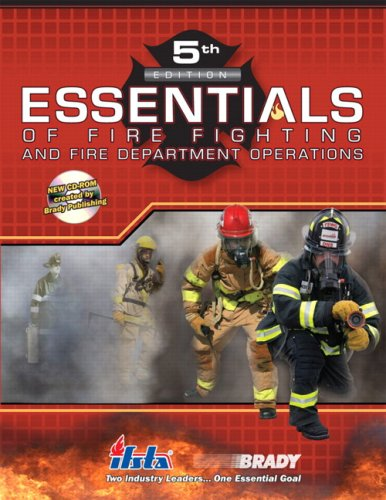 Essentials of Fire Fighting and Fire Department Operations  5th 2008 edition cover