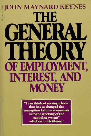General Theory of Employment, Interest, and Money   1965 edition cover