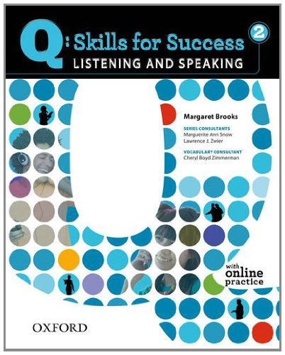 Q Skills for Success - Listening and Speaking  Student Manual, Study Guide, etc. edition cover