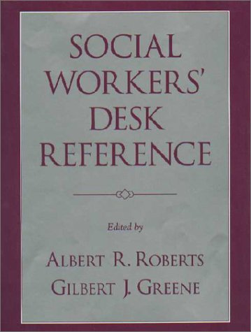 Social Workers' Desk Reference  2nd 2002 9780195142112 Front Cover