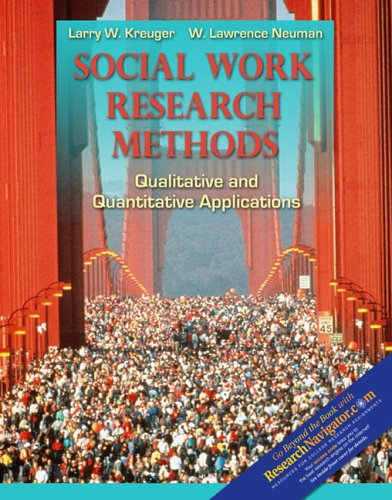 Social Work Research Methods with Research Navigator   2006 edition cover