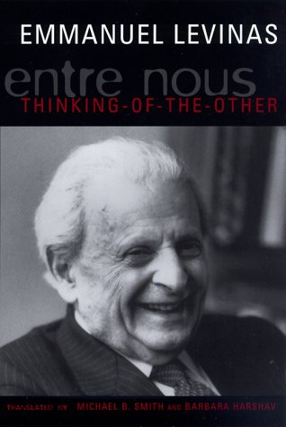Entre Nous Essays on Thinking-of-the-Other N/A edition cover