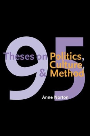 95 Theses on Politics, Culture, and Method   2003 edition cover