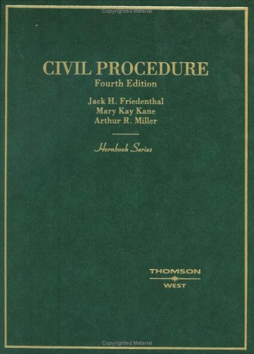 Civil Procedure  4th 2005 (Revised) edition cover