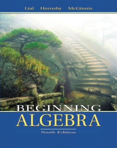Beginning Algebra  9th 2004 (Revised) edition cover