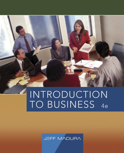 Introduction to Business  4th 2007 edition cover