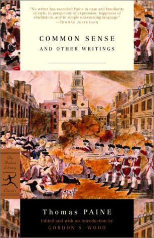 Common Sense And Other Writings  2003 edition cover
