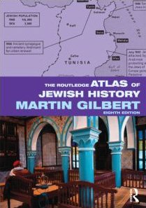 Routledge Atlas of Jewish History  8th 2010 (Revised) edition cover