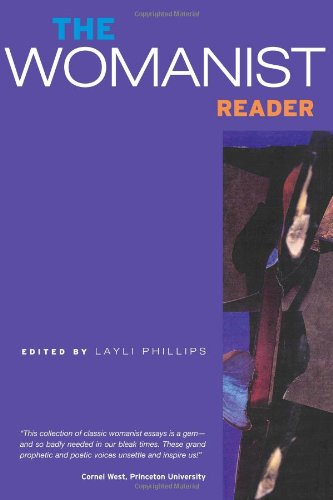 Womanist Reader   2007 edition cover