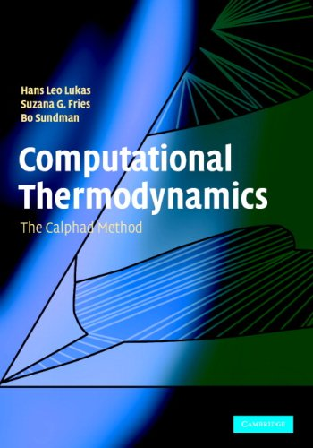 Computational Thermodynamics The Calphad Method  2007 9780521868112 Front Cover