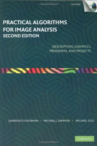 Practical Algorithms for Image Analysis with CD-ROM  2nd 2007 9780521884112 Front Cover