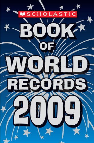 Book of World Records 2009  N/A 9780545082112 Front Cover