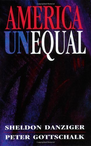 America Unequal   1995 edition cover
