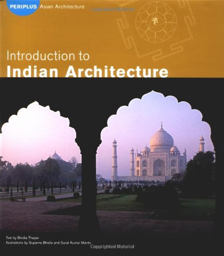 Introduction to Indian Architecture   2002 edition cover