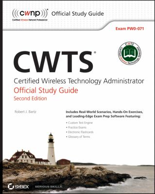 CWTS Certified Wireless Technology Specialist 2nd 2012 edition cover