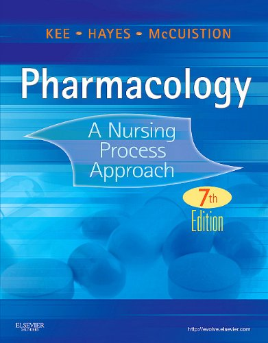 Pharmacology A Nursing Process Approach 7th 2011 edition cover