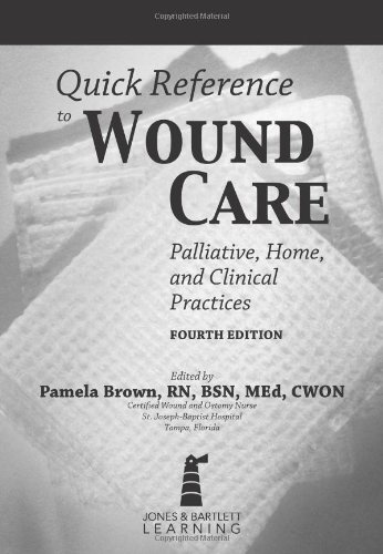 Quick Reference to Wound Care  4th 2013 edition cover