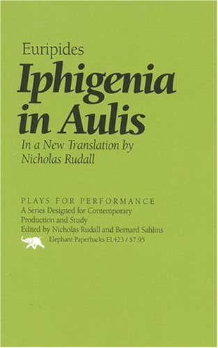 Iphigenia at Aulis   1997 edition cover