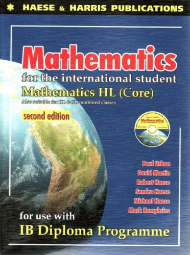 MATH.F/INTL.STUDENT:MATH HL-W/ N/A edition cover