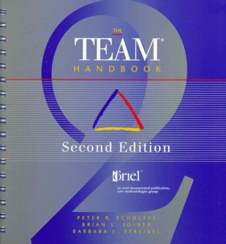 Team Handbook 2nd 1996 (Reprint) edition cover