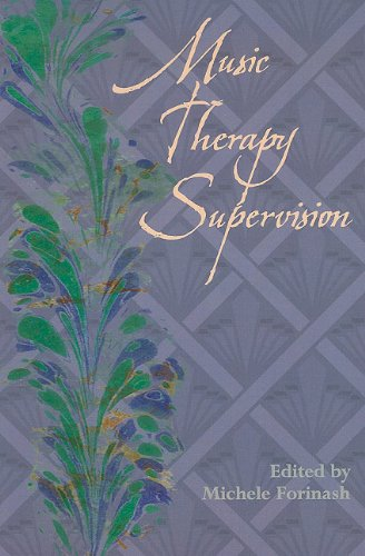 Music Therapy Supervision   2001 edition cover