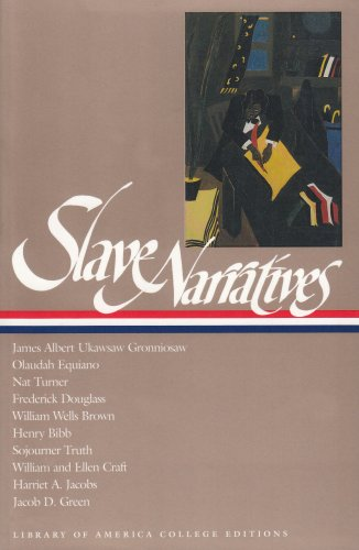 Slave Narratives  N/A 9781931082112 Front Cover