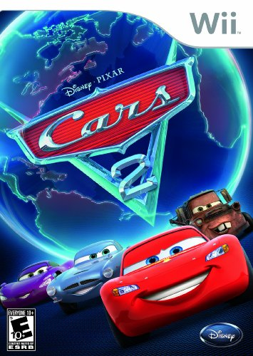 Cars 2: The Video Game - Nintendo Wii Nintendo Wii artwork