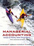 """MANAGERIAL ACCT.-W/3""""DISK >CAN 5th 2001 edition cover"""