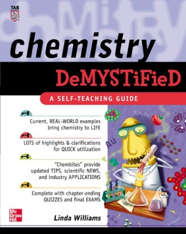 Chemistry Demystified   2003 edition cover