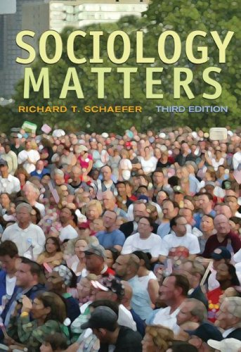 Sociology Matters  3rd 2008 edition cover