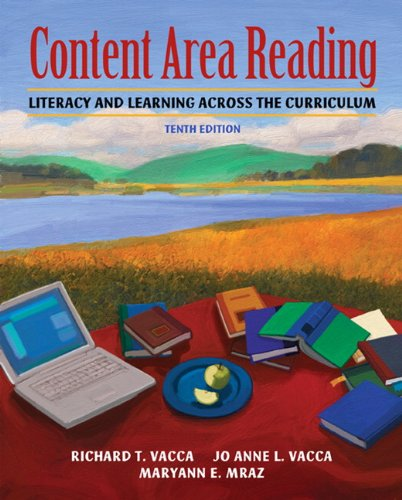 Content Area Reading Literacy and Learning Across the Curriculum 10th 2011 edition cover
