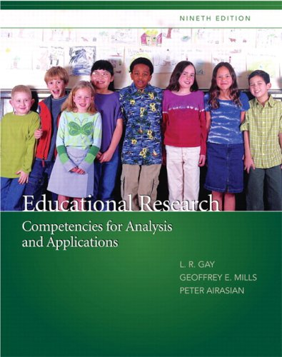 EDUCATIONAL RESEARCH-W/SPSS 16 N/A 9780137147113 Front Cover