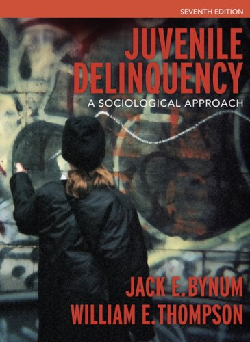 Juvenile Delinquency A Sociological Approach 7th 2007 9780205499113 Front Cover