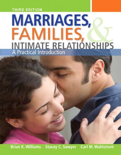 Marriages, Families, and Intimate Relationships, Books a la Carte Edition  3rd 2013 edition cover