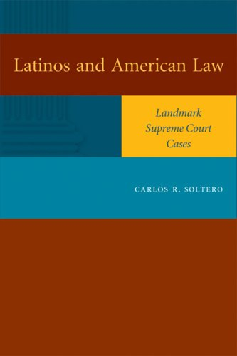 Latinos and American Law Landmark Supreme Court Cases  2006 edition cover