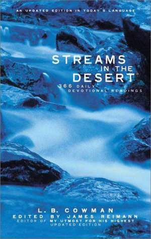 Streams in the Desert� 366 Daily Devotional Readings  1999 (Revised) edition cover