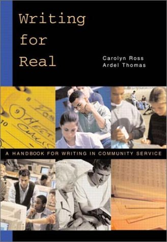 Writing for Real A Handbook for Writing in Community Service  2003 edition cover