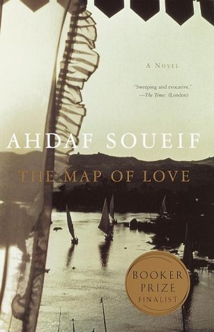 Map of Love A Novel  2000 edition cover