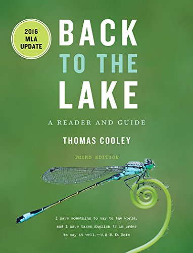 Back to the Lake A Reader and Guide, with 2016 MLA Update 3rd 9780393624113 Front Cover