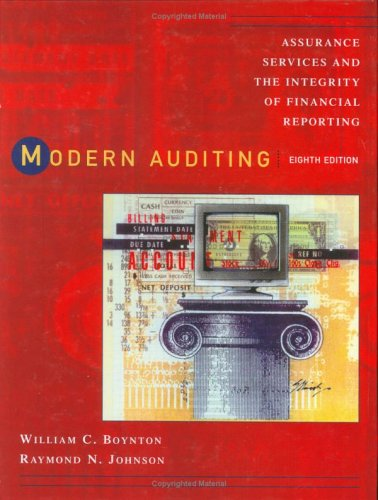 Modern Auditing Assurance Services and the Integrity of Financial Reporting 8th 2006 (Revised) edition cover