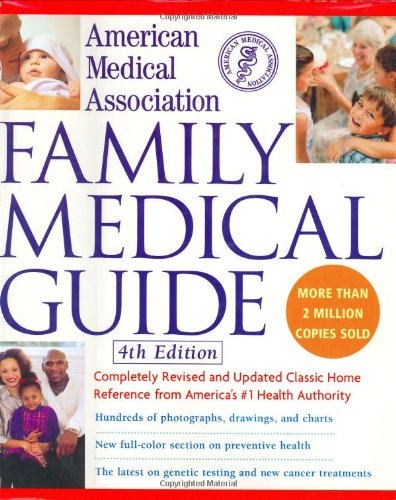 American Medical Association Family Medical Guide  4th 2004 (Revised) edition cover