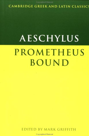 Aeschylus Prometheus Bound  1983 9780521270113 Front Cover