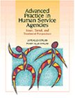 Advanced Practice in Human Service Agencies Issues, Trends, and Treatment Perspectives  1999 edition cover