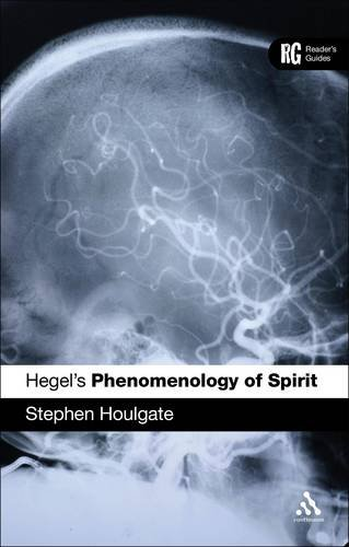 Hegel's 'Phenomenology of Spirit' A Reader's Guide  2012 edition cover