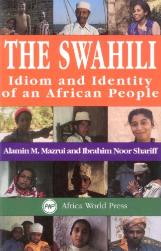 Swahili Idiom and Identity of an African People  1994 edition cover